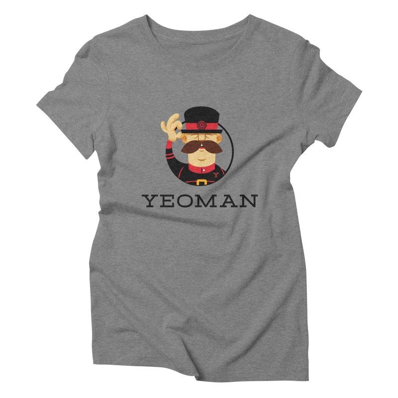 Yeoman (logo) Women's Triblend T-Shirt by Yeoman