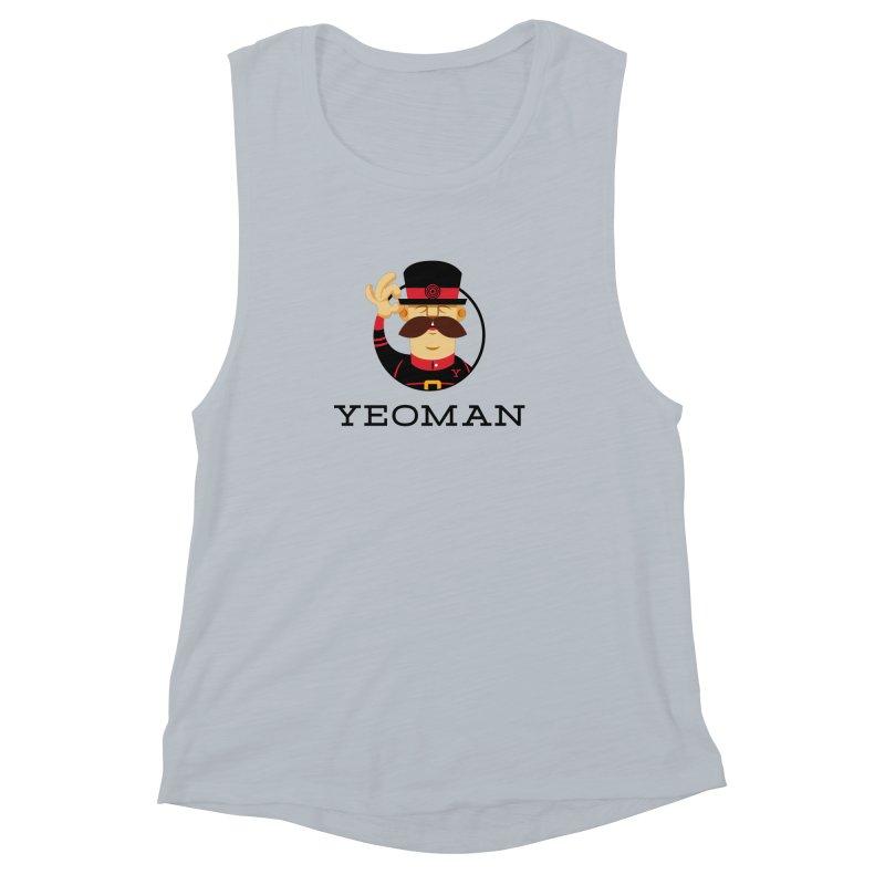 Yeoman (logo) Women's Muscle Tank by Yeoman