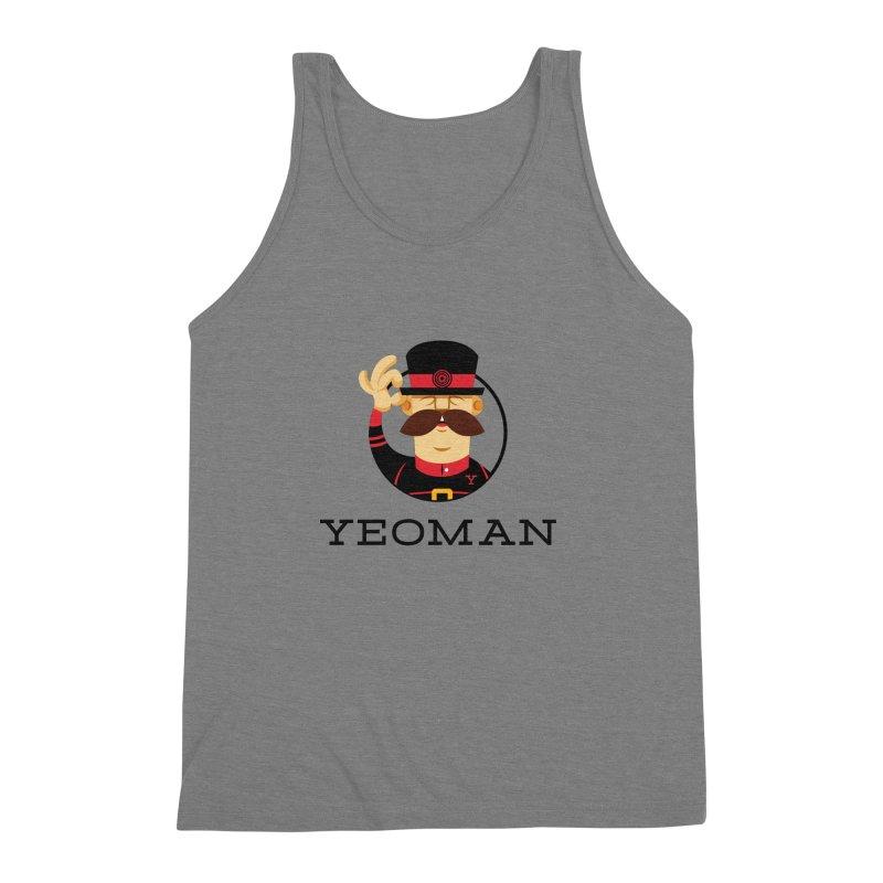 Yeoman (logo) Men's Triblend Tank by Yeoman