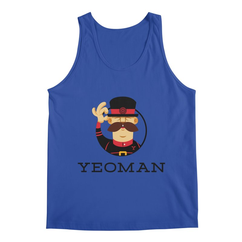 Yeoman (logo) Men's Regular Tank by Yeoman
