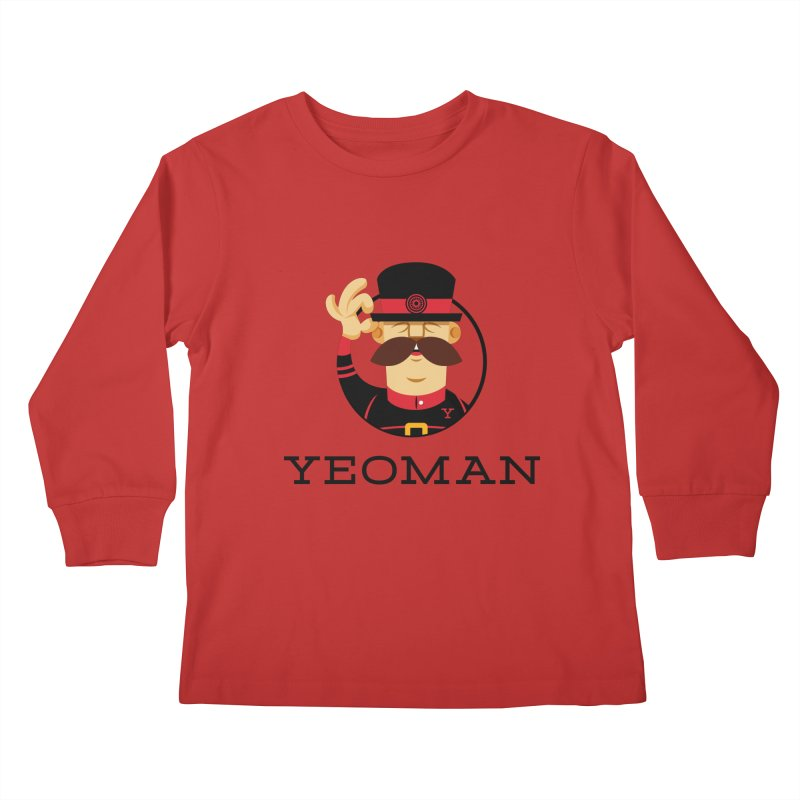 Yeoman (logo) Kids Longsleeve T-Shirt by Yeoman