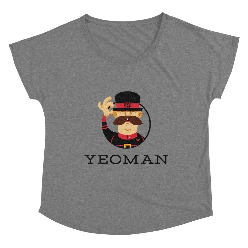 Yeoman (logo) Women's Scoop Neck by Yeoman