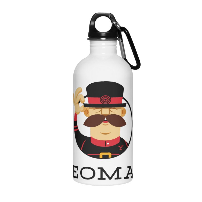 Yeoman (logo) Accessories Water Bottle by Yeoman