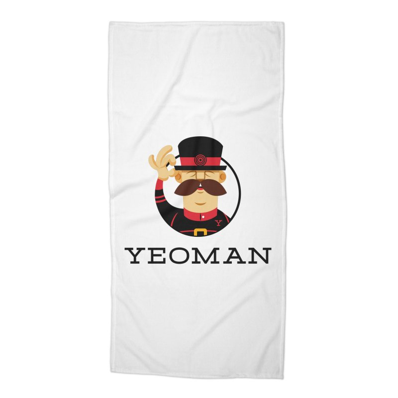 Yeoman (logo) Accessories Beach Towel by Yeoman