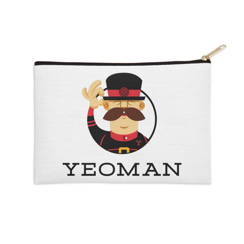 Yeoman (logo) Accessories Zip Pouch by Yeoman