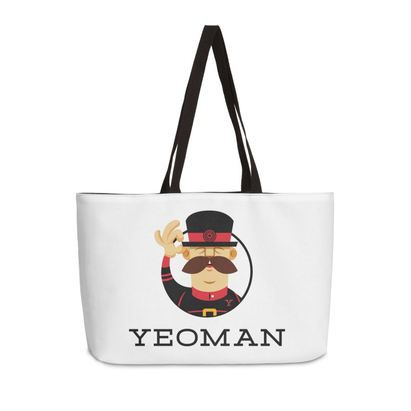 Yeoman (logo) Accessories Weekender Bag Bag by Yeoman