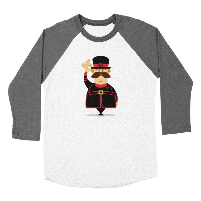 Yeoman (standing) Women's Baseball Triblend Longsleeve T-Shirt by Yeoman