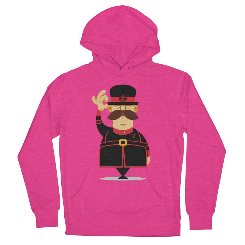 Yeoman (standing) Women's French Terry Pullover Hoody by Yeoman
