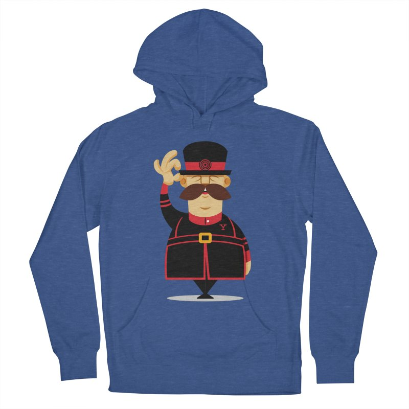 Yeoman (standing) Men's French Terry Pullover Hoody by Yeoman