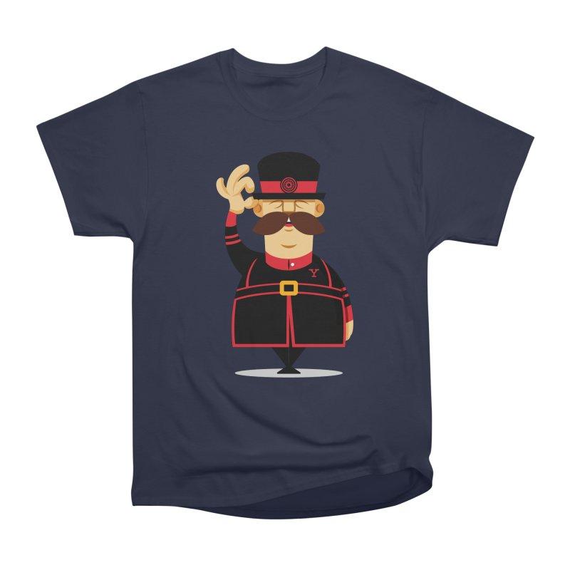 Yeoman (standing) Women's Heavyweight Unisex T-Shirt by Yeoman