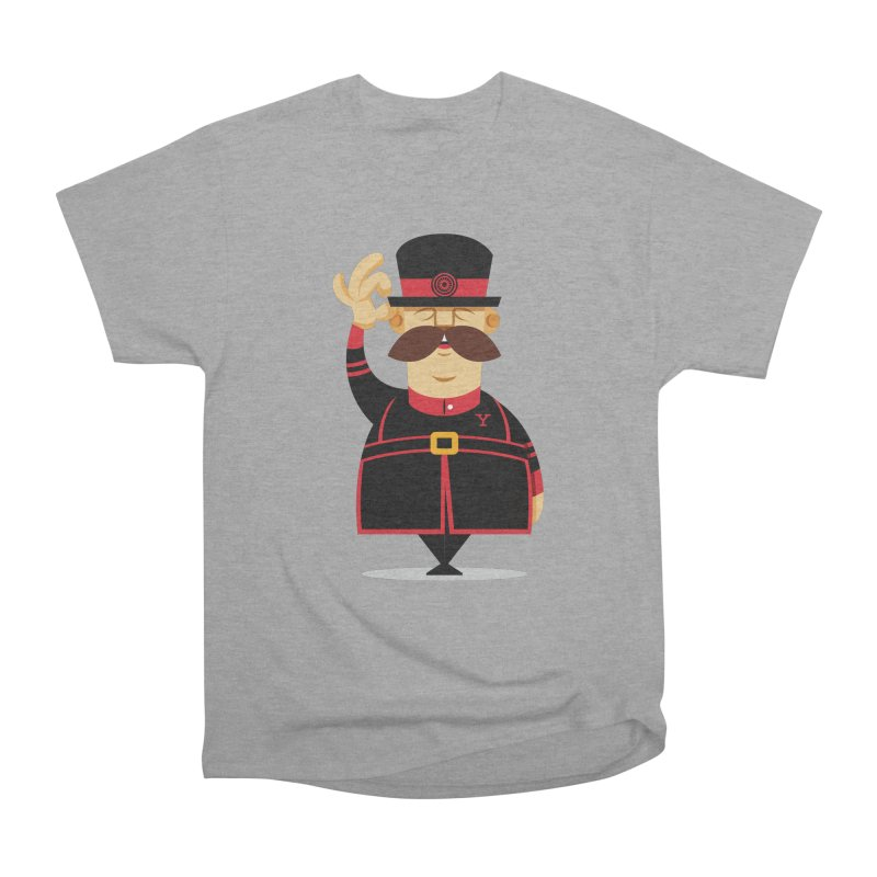 Yeoman (standing) Women's Heavyweight Unisex T-Shirt by Yeoman