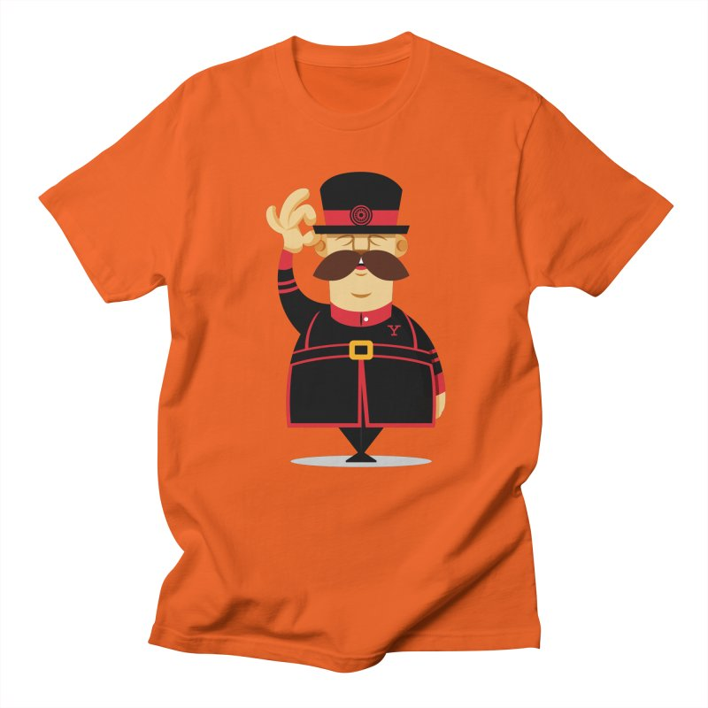 Yeoman (standing) Men's Regular T-Shirt by Yeoman