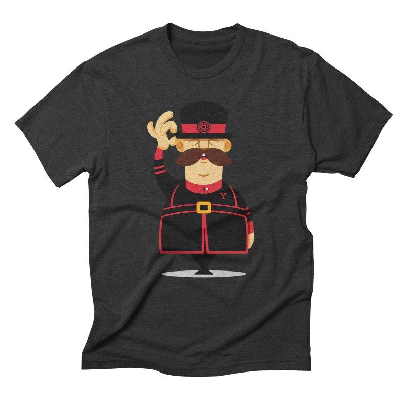 Yeoman (standing) Men's Triblend T-Shirt by Yeoman