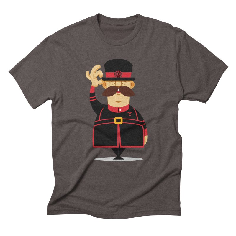 Yeoman (standing) Men's Triblend T-Shirt by Yeoman