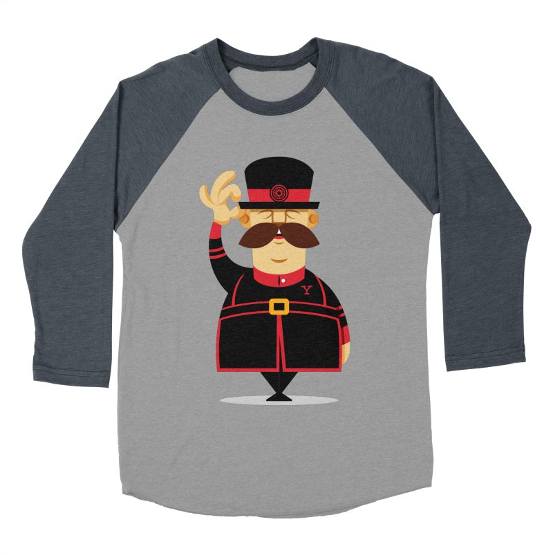 Yeoman (standing) Men's Baseball Triblend Longsleeve T-Shirt by Yeoman