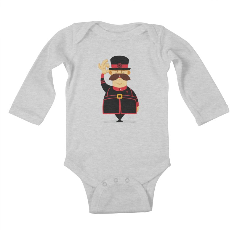 Yeoman (standing) Kids Baby Longsleeve Bodysuit by Yeoman