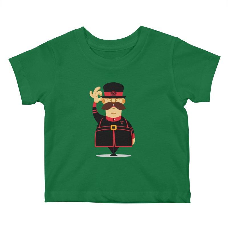 Yeoman (standing) Kids Baby T-Shirt by Yeoman