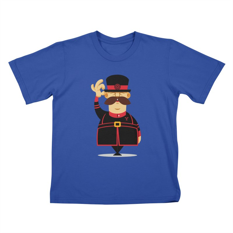 Yeoman (standing) Kids T-Shirt by Yeoman