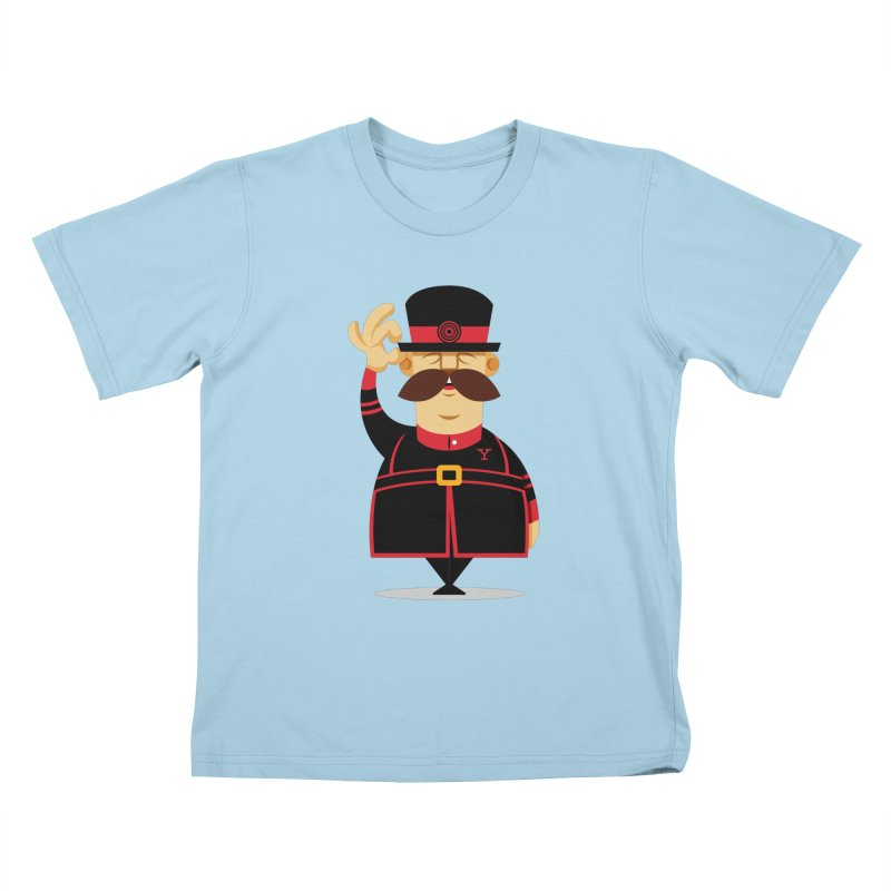 Yeoman (standing) Kids T-Shirt by Yeoman