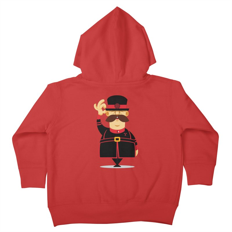 Yeoman (standing) Kids Toddler Zip-Up Hoody by Yeoman