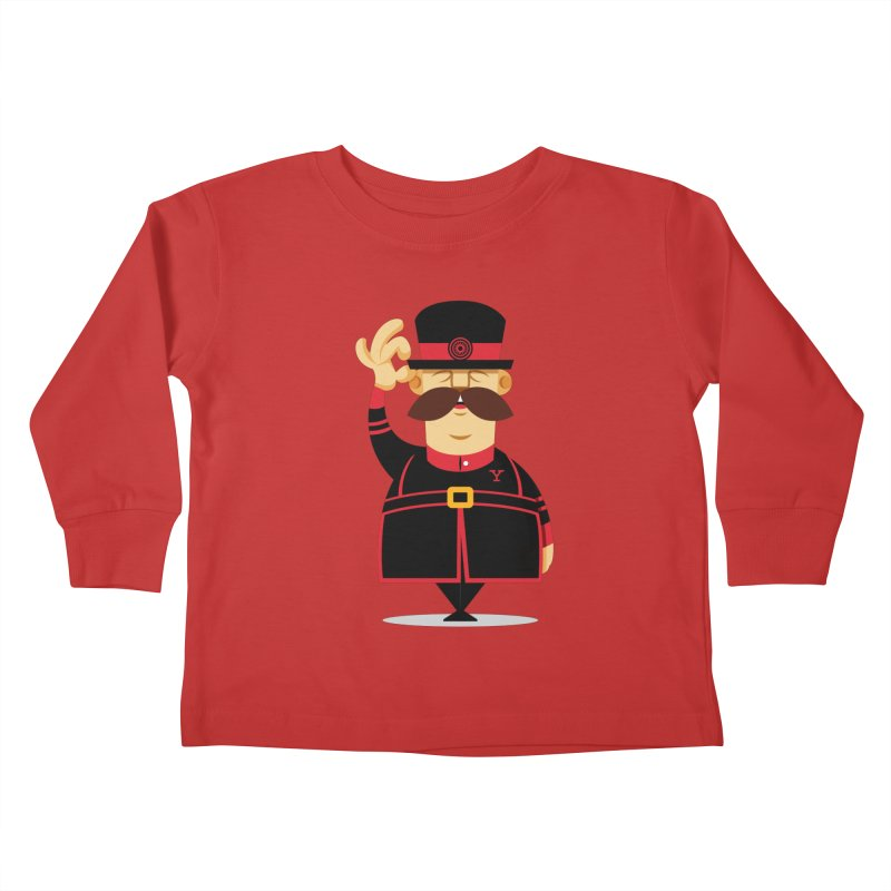 Yeoman (standing) Kids Toddler Longsleeve T-Shirt by Yeoman