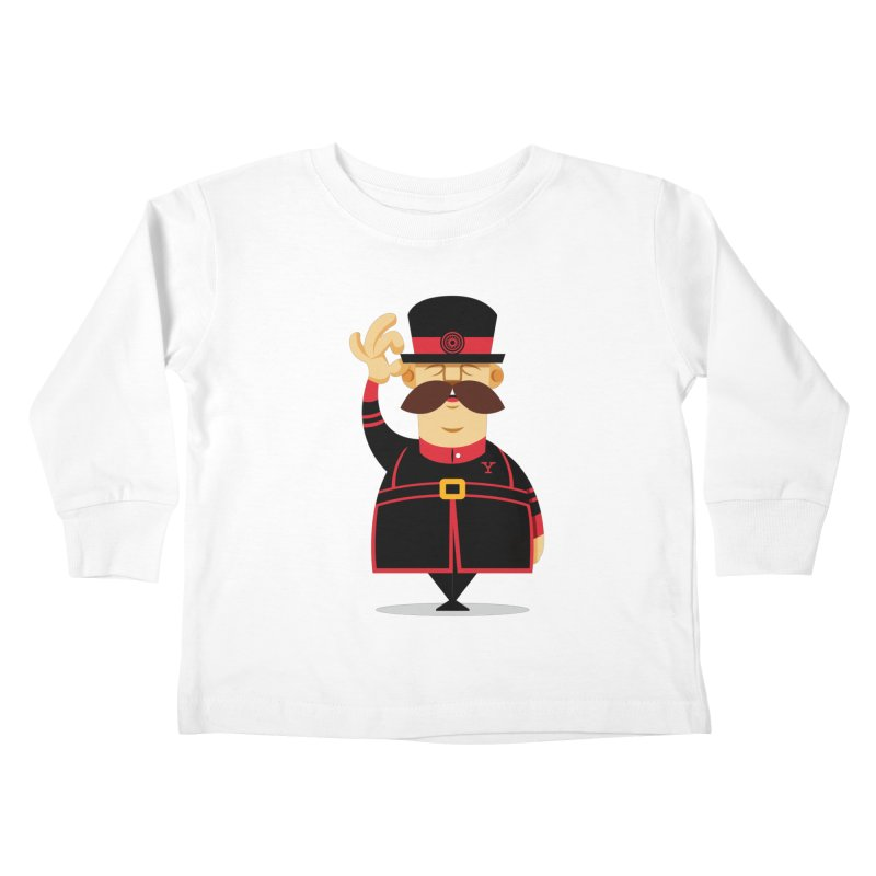 Yeoman (standing) Kids Toddler Longsleeve T-Shirt by Yeoman