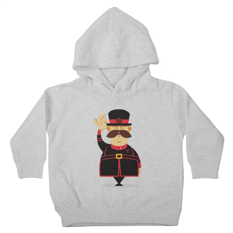 Yeoman (standing) Kids Toddler Pullover Hoody by Yeoman