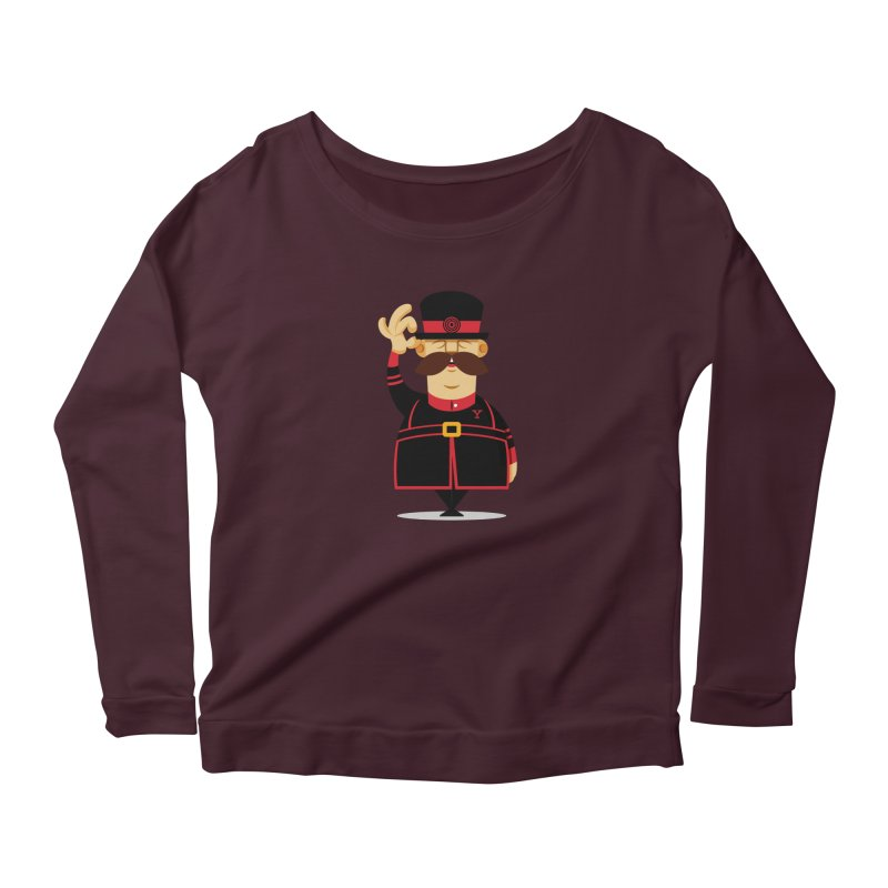 Yeoman (standing) Women's Scoop Neck Longsleeve T-Shirt by Yeoman