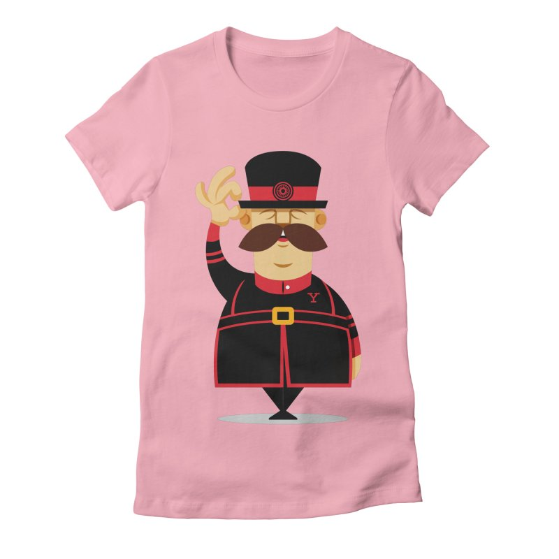 Yeoman (standing) Women's Fitted T-Shirt by Yeoman