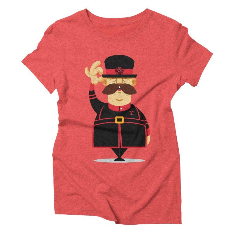 Yeoman (standing) Women's Triblend T-Shirt by Yeoman