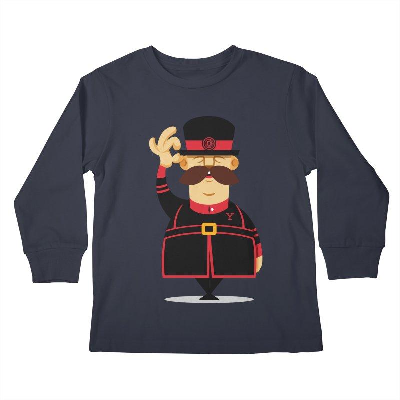 Yeoman (standing) Kids Longsleeve T-Shirt by Yeoman