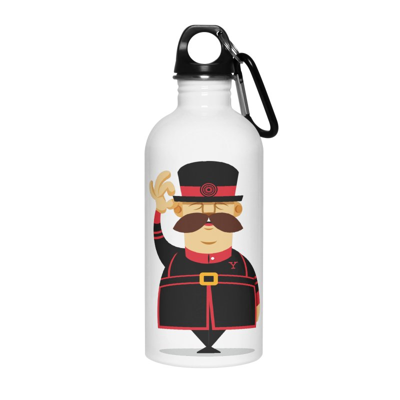 Yeoman (standing) Accessories Water Bottle by Yeoman