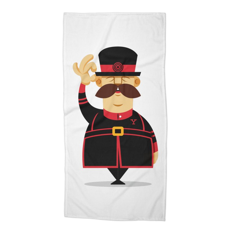 Yeoman (standing) Accessories Beach Towel by Yeoman