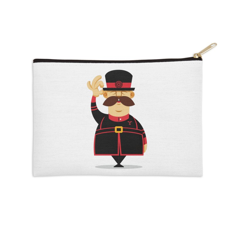 Yeoman (standing) Accessories Zip Pouch by Yeoman
