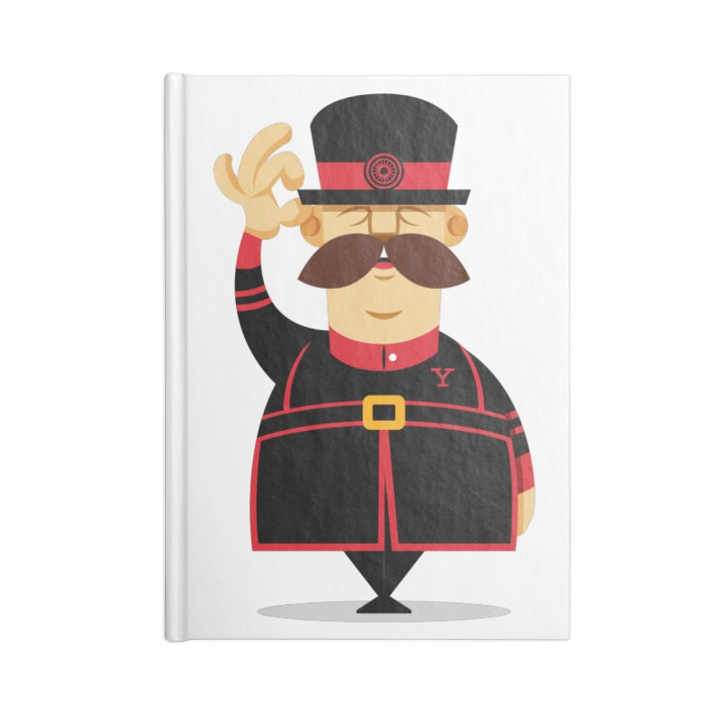 Yeoman (standing) Accessories Lined Journal Notebook by Yeoman