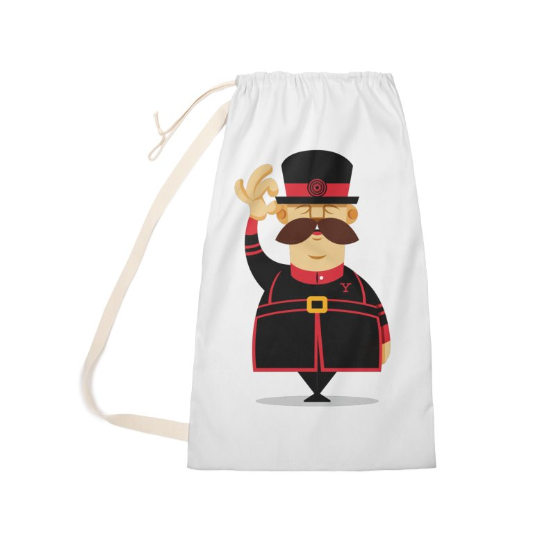 Yeoman (standing) Accessories Laundry Bag Bag by Yeoman