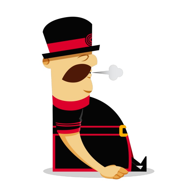 Tired Yeoman by Yeoman