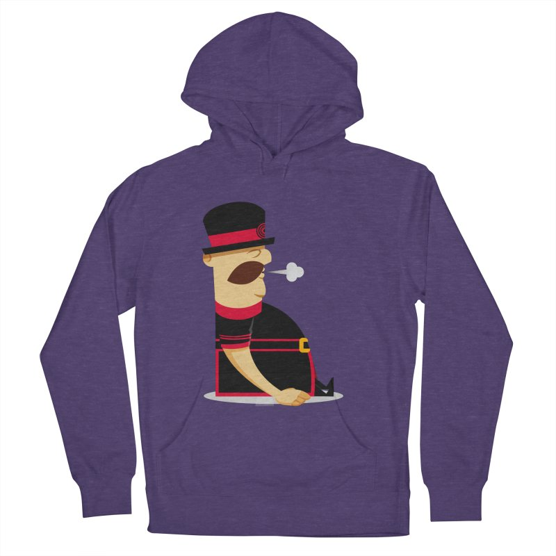 Tired Yeoman Women's French Terry Pullover Hoody by Yeoman
