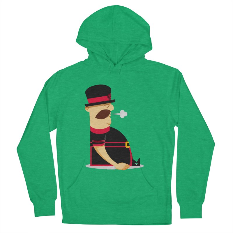 Tired Yeoman Men's French Terry Pullover Hoody by Yeoman