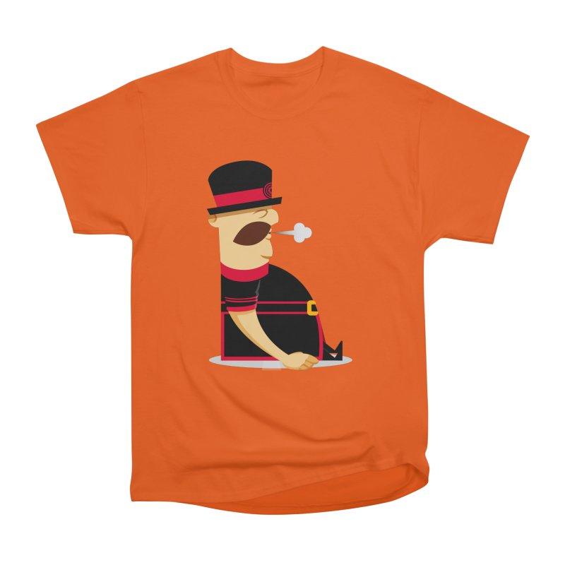 Tired Yeoman Men's Heavyweight T-Shirt by Yeoman