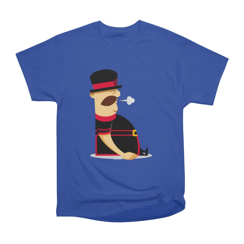 Tired Yeoman Men's Heavyweight T-Shirt by Yeoman