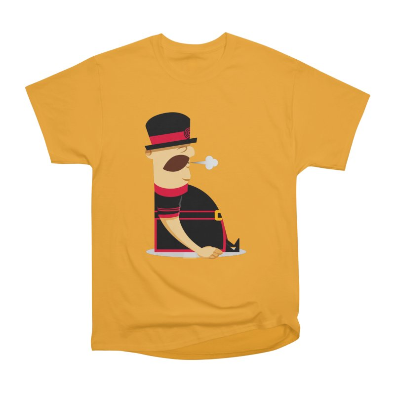 Tired Yeoman Women's Heavyweight Unisex T-Shirt by Yeoman