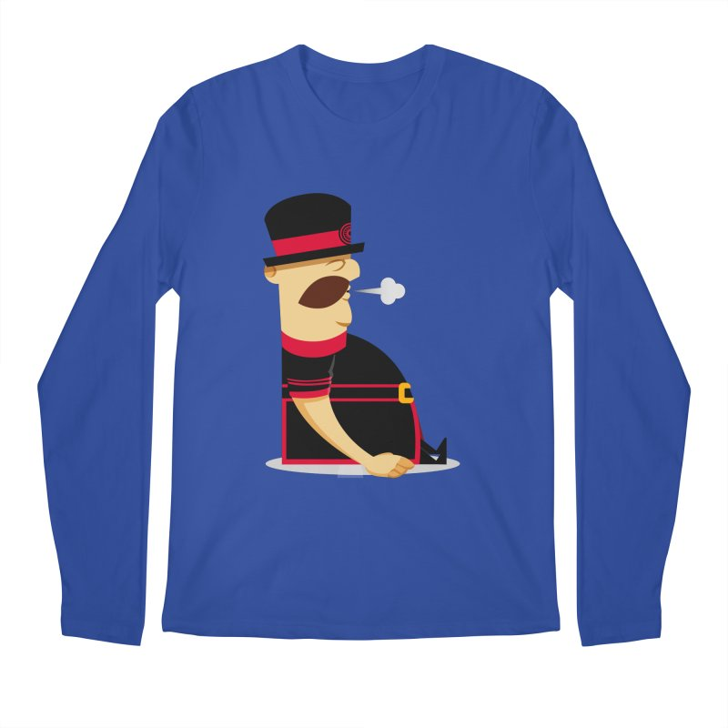 Tired Yeoman Men's Regular Longsleeve T-Shirt by Yeoman