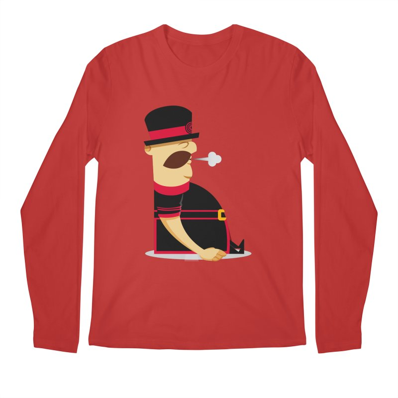 Tired Yeoman Men's Longsleeve T-Shirt by Yeoman