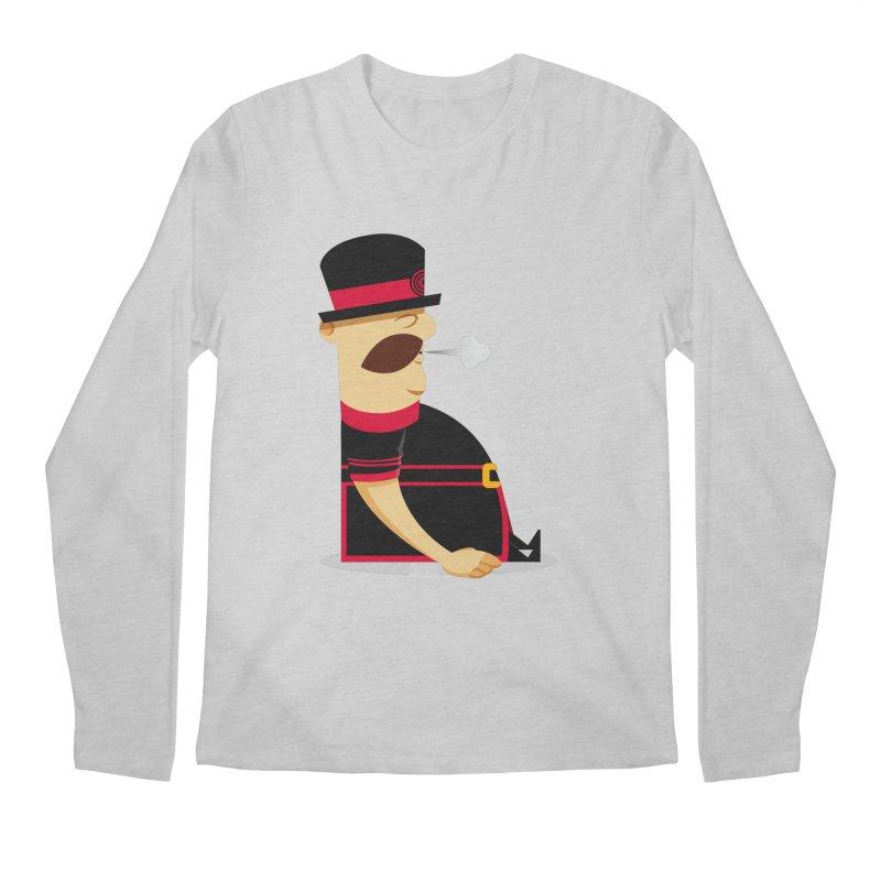 Tired Yeoman Men's Regular Longsleeve T-Shirt by Yeoman