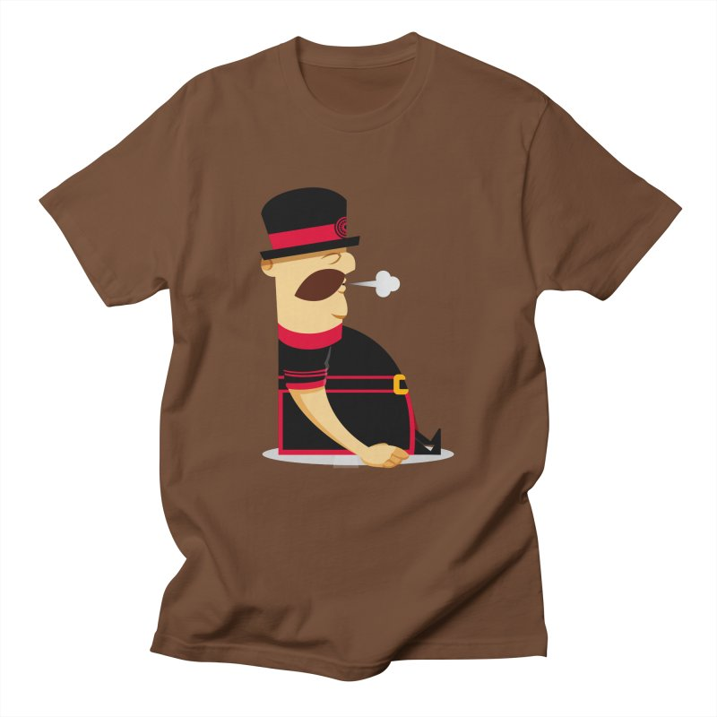 Tired Yeoman Men's Regular T-Shirt by Yeoman