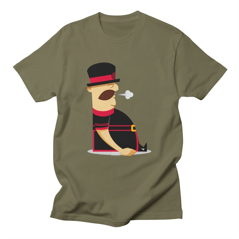 Tired Yeoman Men's Regular T-Shirt by Yeoman