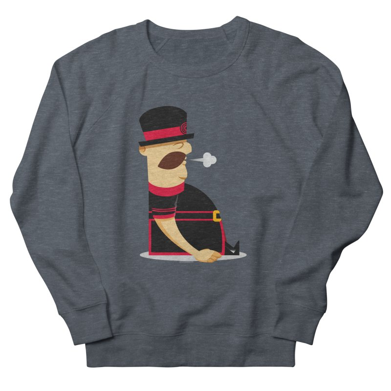 Tired Yeoman Men's French Terry Sweatshirt by Yeoman