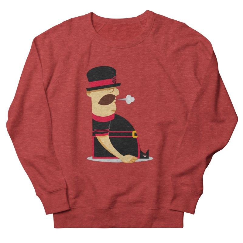 Tired Yeoman Men's French Terry Sweatshirt by Yeoman