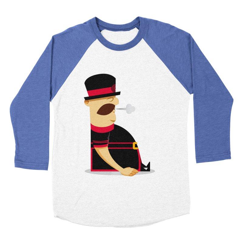 Tired Yeoman Women's Baseball Triblend Longsleeve T-Shirt by Yeoman